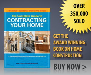 Buy the Complete Guide to Contracting Your Home